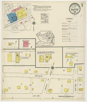 Primary view of object titled 'Hutto 1921 Sheet 1'.