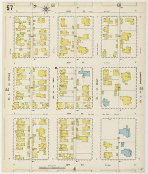 Primary view of object titled 'Galveston 1899 Sheet 57'.