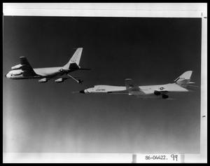 Primary view of object titled 'Plane Refueling in Air'.