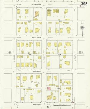 Primary view of object titled 'San Antonio 1912 Sheet 398'.