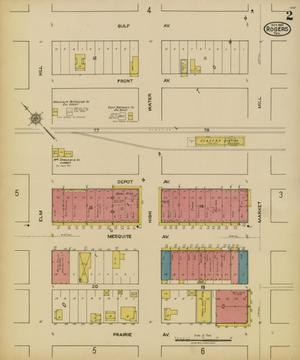 Primary view of object titled 'Rogers 1921 Sheet 2'.