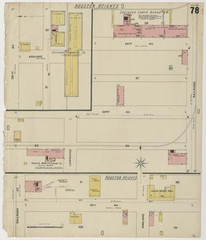Primary view of object titled 'Houston 1896 Sheet 78'.