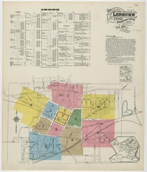 Primary view of object titled 'Longview 1916 Sheet 1'.