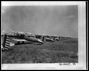 Primary view of object titled 'Biplanes in Arledge Field'.