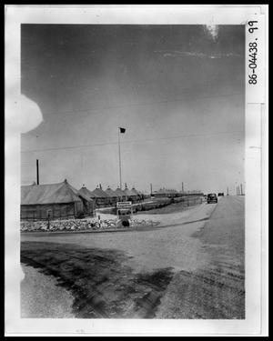 Primary view of object titled 'Tents at Army Camp'.