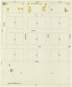 Primary view of object titled 'Austin 1900 Sheet 23'.