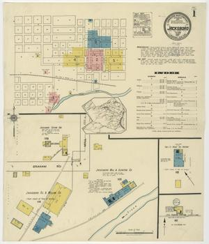 Primary view of object titled 'Jacksboro 1921 Sheet 1'.