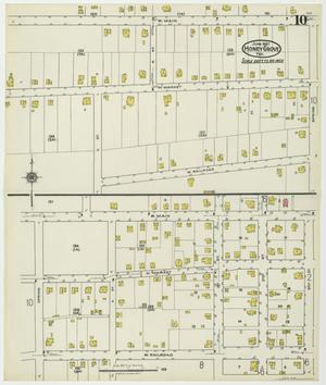Primary view of object titled 'Honey Grove 1921 Sheet 10'.