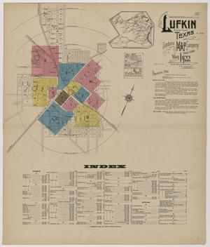 Primary view of object titled 'Lufkin 1922 Sheet 1'.