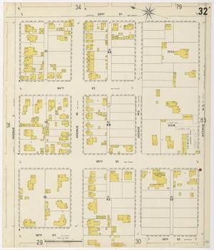 Primary view of Galveston 1899 Sheet 32