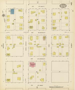 Primary view of object titled 'Quanah 1915 Sheet 7'.
