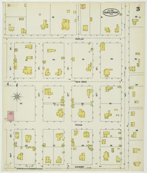Primary view of object titled 'Honey Grove 1902 Sheet 3'.