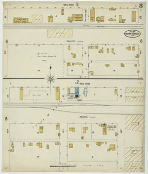 Primary view of object titled 'Honey Grove 1897 Sheet 8'.