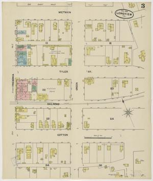 Primary view of object titled 'Longview 1890 Sheet 3'.