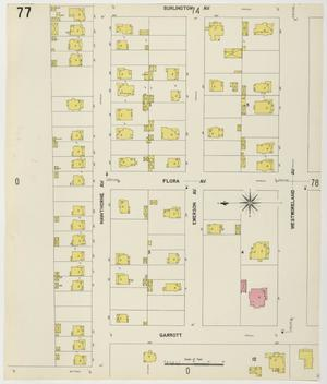 Primary view of object titled 'Houston 1907 Vol. 1 Sheet 77'.