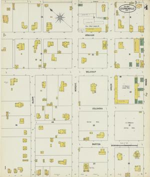 Primary view of object titled 'Stephenville 1902 Sheet 4'.