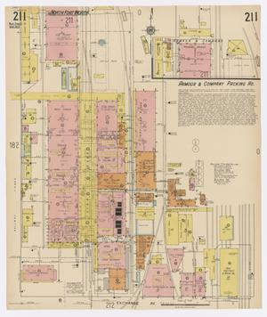 Primary view of object titled 'Fort Worth 1923 Vol 2 Sheet 211'.