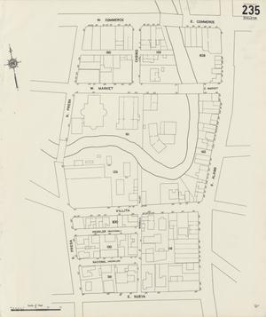 Primary view of object titled 'San Antonio 1912 Vol 3 Sheet 235 (Skeleton Map)'.