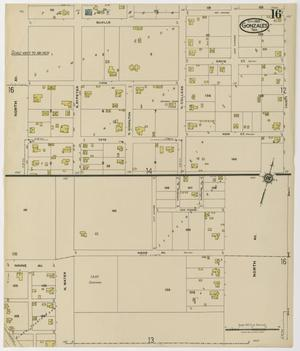 Primary view of object titled 'Gonzales 1922 Sheet 16'.