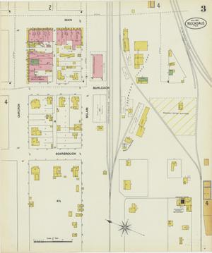 Primary view of Rockdale 1901 Sheet 3
