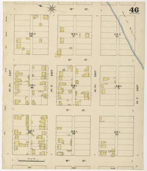 Primary view of object titled 'Galveston 1889 Sheet 46'.