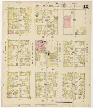 Primary view of object titled 'Galveston 1889 Sheet 12'.