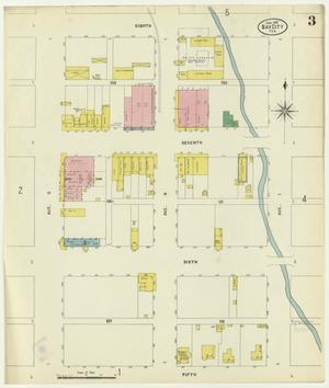 Primary view of object titled 'Bay City 1907 Sheet 3'.