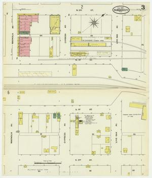 Primary view of object titled 'Hubbard City 1909 Sheet 3'.