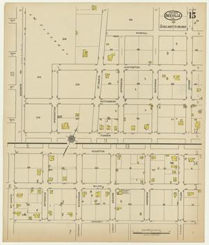 Primary view of object titled 'Beeville 1922 Sheet 15'.