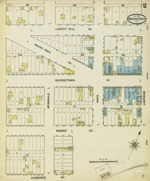 Primary view of object titled 'Round Rock 1891 Sheet 2'.