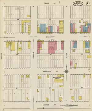 Primary view of object titled 'Newcastle 1921 Sheet 2'.