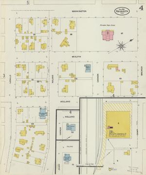Primary view of object titled 'Navasota 1906 Sheet 4'.