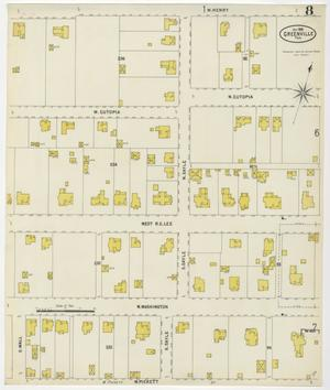 Primary view of object titled 'Greenville 1898 Sheet 8'.