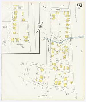 Primary view of object titled 'Fort Worth 1926 Vol 2 Sheet 224'.