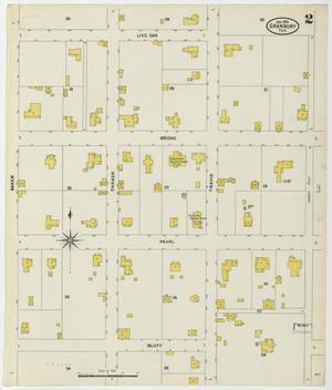 Primary view of object titled 'Granbury 1905 Sheet 2'.