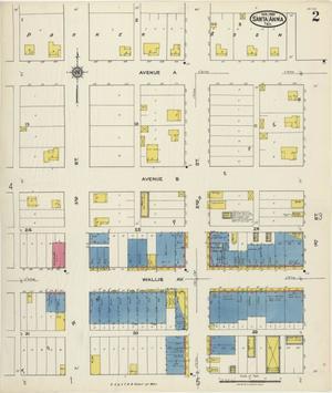 Primary view of Santa Anna 1921 Sheet 2