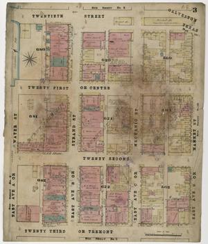 Primary view of object titled 'Galveston 1877 Sheet 3'.