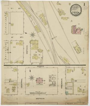 Primary view of object titled 'Longview 1885 Sheet 1'.