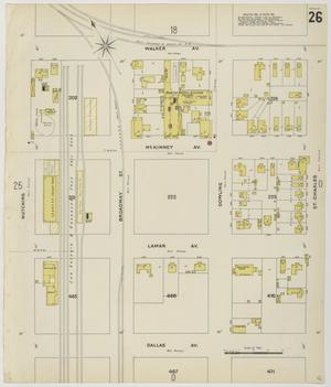 Primary view of object titled 'Houston 1896 Sheet 26'.