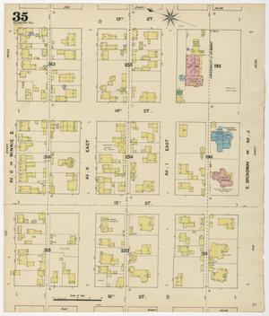 Primary view of object titled 'Galveston 1889 Sheet 35'.