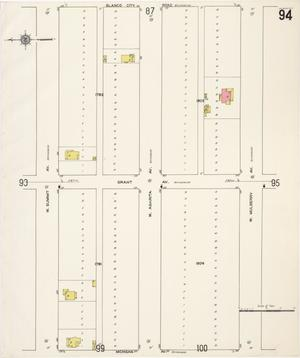 Primary view of object titled 'San Antonio 1911 Vol 1 Sheet 94'.