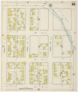 Primary view of object titled 'Galveston 1899 Sheet 66'.
