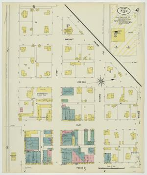 Primary view of object titled 'Hico 1907 Sheet 4'.