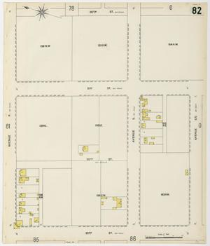 Primary view of object titled 'Galveston 1899 Sheet 82'.