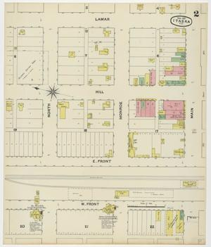 Primary view of object titled 'Itasca 1891 Sheet 2'.