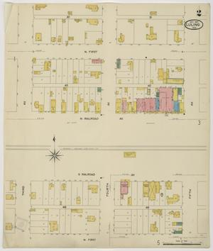 Primary view of object titled 'Luling 1907 Sheet 2'.