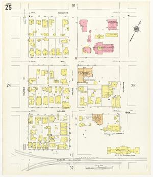 Primary view of object titled 'Beaumont 1941 Sheet 25'.