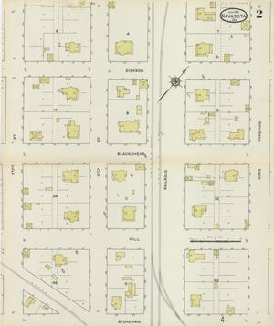 Primary view of object titled 'Navasota 1912 Sheet 2'.
