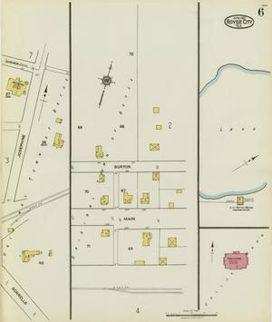 Primary view of object titled 'Royse City 1921 Sheet 6'.