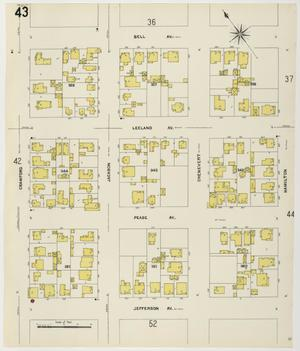 Primary view of object titled 'Houston 1907 Vol. 1 Sheet 43'.